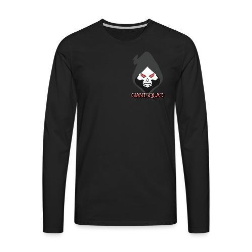 Grim text - Men's Premium Long Sleeve T-Shirt