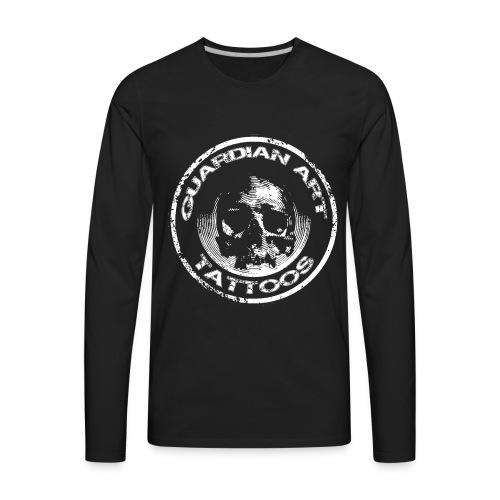 Guardian Art Tattoos Skull - Men's Premium Long Sleeve T-Shirt