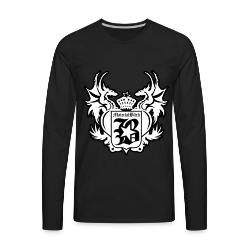 Material Bitch Medievil - Men's Premium Long Sleeve T-Shirt