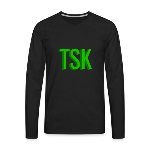 Meget simpel TSK trøje - Men's Premium Long Sleeve T-Shirt