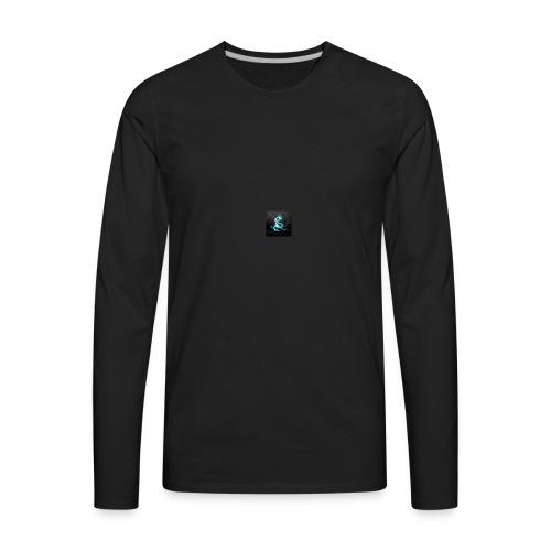 abstract blue dragons blue dragon logos amd 2560x1 - Men's Premium Long Sleeve T-Shirt