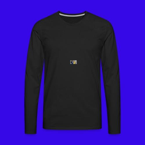 The Neiman Channel peace sign - Men's Premium Long Sleeve T-Shirt