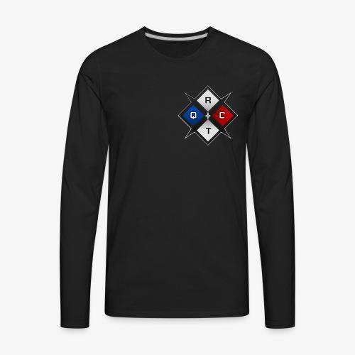 RTQC Logo - T-shirt Premium à manches longues pour hommes
