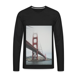 Golden Gate Bridge - Men's Premium Long Sleeve T-Shirt