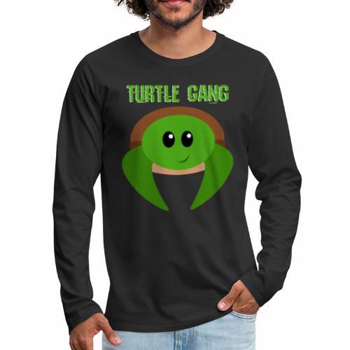 Turtle Gang - Men's Premium Long Sleeve T-Shirt