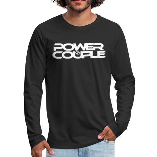 #PowerCouple Male-Male - Men's Premium Long Sleeve T-Shirt