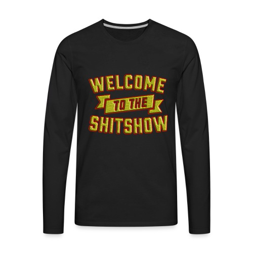 Welcome | t shirt maker - Men's Premium Long Sleeve T-Shirt