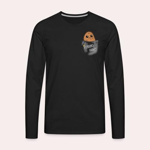 Pocket Potato - Men's Premium Long Sleeve T-Shirt