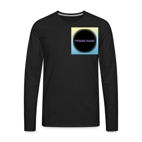Tyrone Vlogs - Men's Premium Long Sleeve T-Shirt