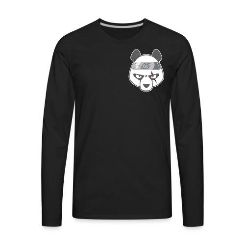 Panda Head - Men's Premium Long Sleeve T-Shirt