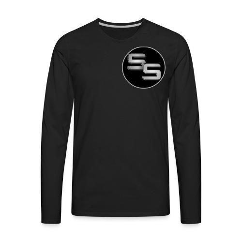 SS Logo - Men's Premium Long Sleeve T-Shirt