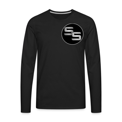 SS Logo - Men's Premium Long Sleeve T-Shirt