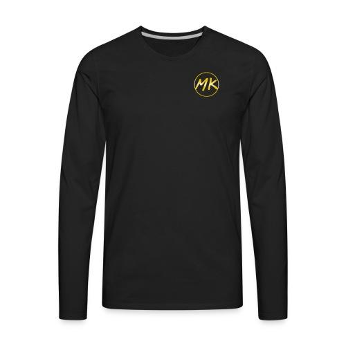 24MK OG (Black Tee-Shirt) - Men's Premium Long Sleeve T-Shirt