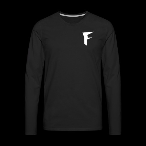 FuZion Logo - Men's Premium Long Sleeve T-Shirt