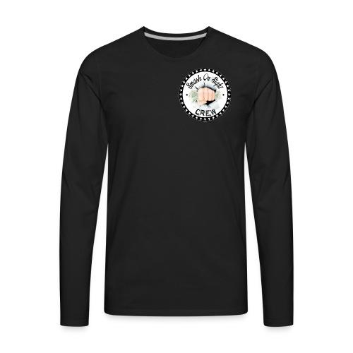 The Smash on Sight Crew Logo - Men's Premium Long Sleeve T-Shirt