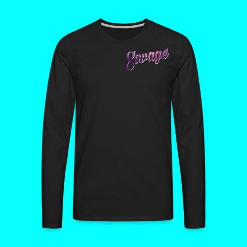 Savage Ware - Men's Premium Long Sleeve T-Shirt