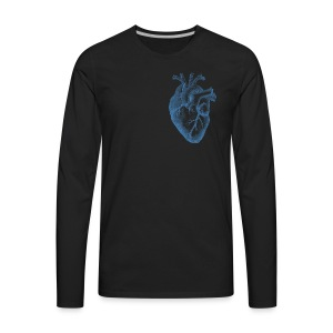 Heart of humanity - Men's Premium Long Sleeve T-Shirt