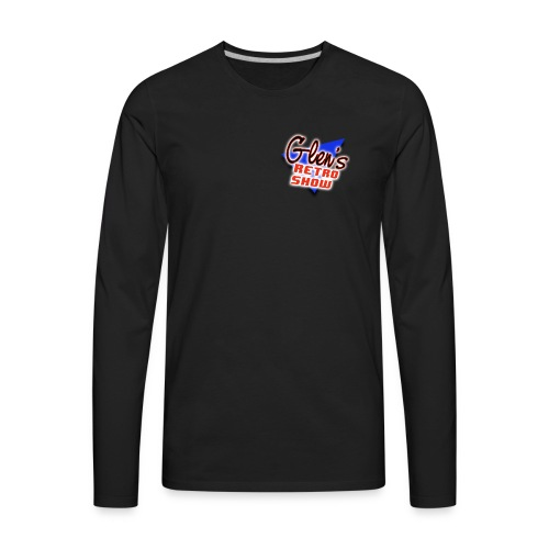 Glen s Retro Show Logo - Men's Premium Long Sleeve T-Shirt