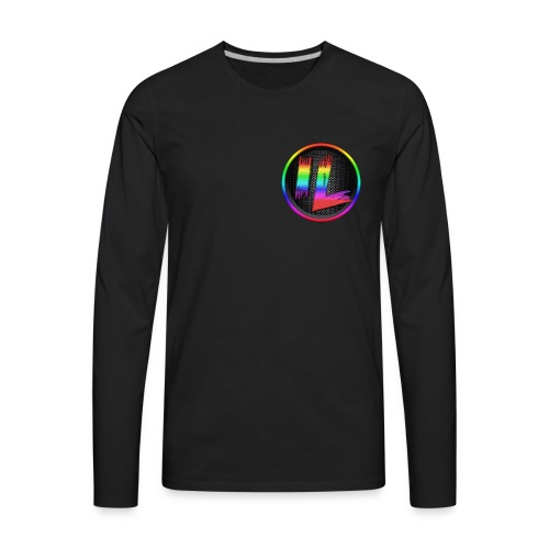 Infinite Laggs Logo Merch - Men's Premium Long Sleeve T-Shirt