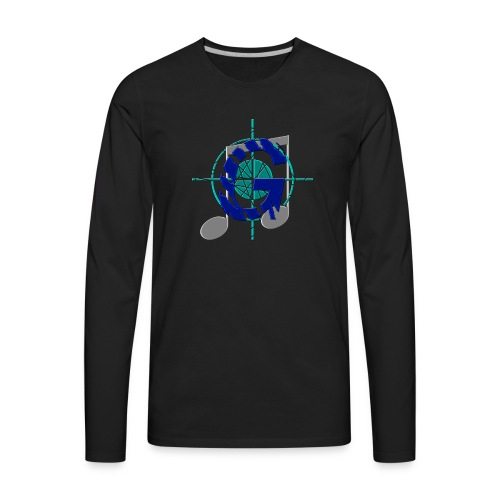 GoliathMusic's Logo - Men's Premium Long Sleeve T-Shirt