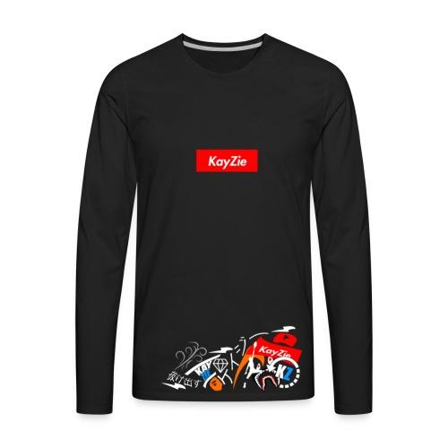 'Supreme KayZie' - Men's Premium Long Sleeve T-Shirt