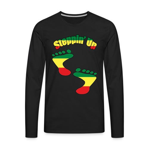 African American Rising T-Shirts And Acessories - Men's Premium Long Sleeve T-Shirt