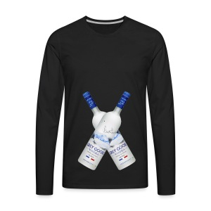 Vodka_kryds - Men's Premium Long Sleeve T-Shirt