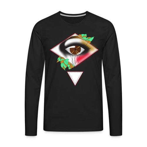 eyeeye final - Men's Premium Long Sleeve T-Shirt