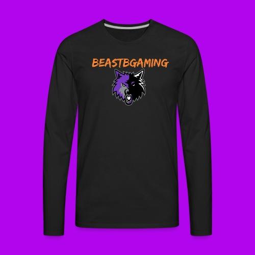 NEW BEAST HALLOWEEN LOGO! - Men's Premium Long Sleeve T-Shirt