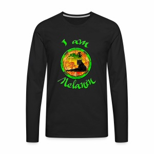 The Melanin Mandala - Men's Premium Long Sleeve T-Shirt