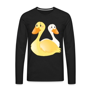 Swan - Men's Premium Long Sleeve T-Shirt