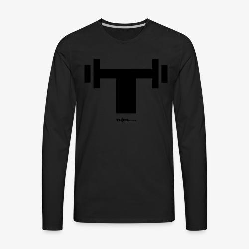 Thickness T Shirt - Men's Premium Long Sleeve T-Shirt