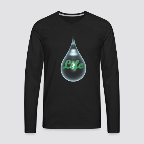 The drops of life - Men's Premium Long Sleeve T-Shirt