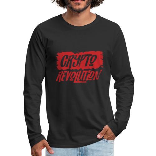Crypto Revolution I - Men's Premium Long Sleeve T-Shirt