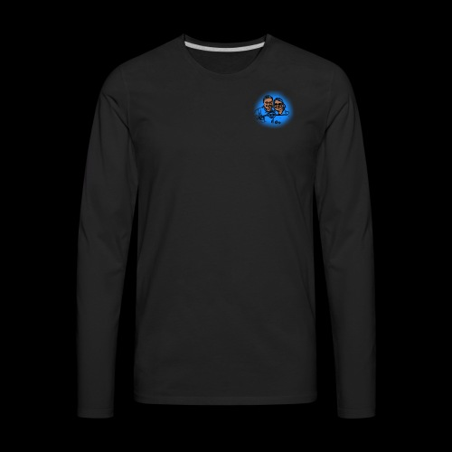 Smaller No Text Logo - Men's Premium Long Sleeve T-Shirt