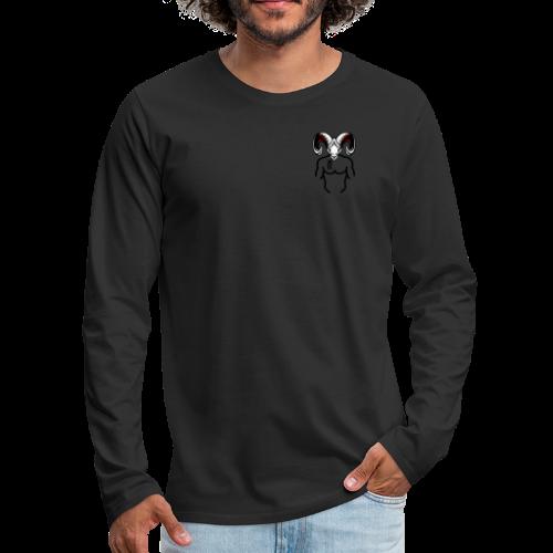 Rocky Tee signature tee - Men's Premium Long Sleeve T-Shirt