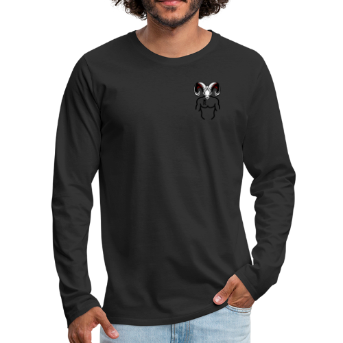 Rocky Tee signature tee - Men's Premium Long Sleeve T-Shirt