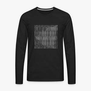 Nicaragua 2018 white - Men's Premium Long Sleeve T-Shirt