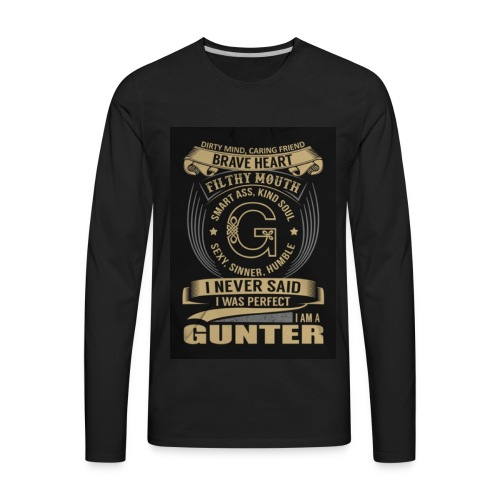 33 - Men's Premium Long Sleeve T-Shirt