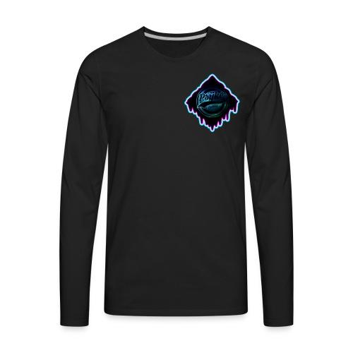 Psÿke Melt Logo - Men's Premium Long Sleeve T-Shirt