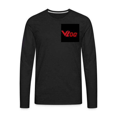 Vlogger edition part 3 - Men's Premium Long Sleeve T-Shirt