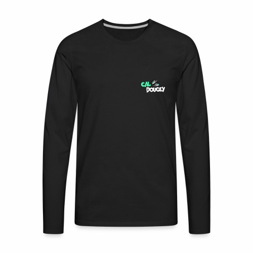CalDougey Logo - Men's Premium Long Sleeve T-Shirt