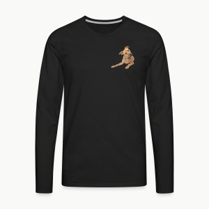 cute dog - Men's Premium Long Sleeve T-Shirt