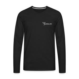 Barbell Inc Stickman (Black) - Men's Premium Long Sleeve T-Shirt