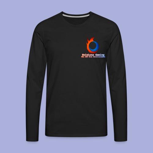 SolyLuna Gaming Logo - Men's Premium Long Sleeve T-Shirt