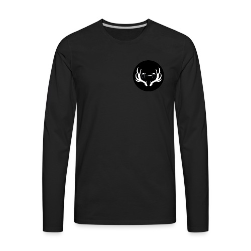 Weights N Whitetails Merch - Men's Premium Long Sleeve T-Shirt