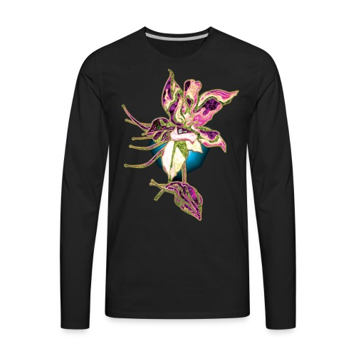 Beautiful Flower 8 - Men's Premium Long Sleeve T-Shirt