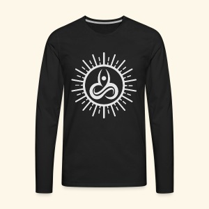 Yoga T-Shirts - Yoga Mind Body Soul - Men's Premium Long Sleeve T-Shirt