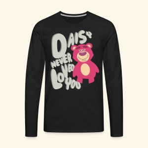 Daisy never loved you - Men's Premium Long Sleeve T-Shirt