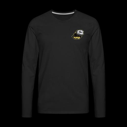 MMB Fire Zombie Turtle! - Men's Premium Long Sleeve T-Shirt